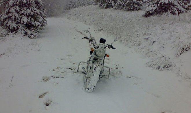 Contrôler votre moto après l'hiver